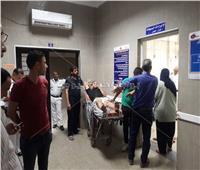 بالصور  إصابة 3 أشخاص إثر سقوط شرفة عقار في الإسكندرية
