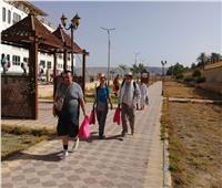 وفد أسباني يزور منطقة آثار «تل العمارنة» بالمنيا