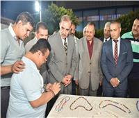 محافظ أسيوط يشهد حفل ختام أنشطة مراكز تنمية الإبداع