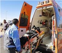 مصرع وإصابة 9 أشخاص في حادث تصادم بالطريق الصحراوي ببني سويف
