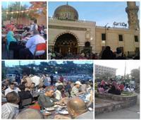 صور| «كل الطعام لله» بالسيدة نفيسة.. موائد الرحمن حكاية مصرية أصيلة