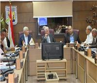 محافظ جنوب سيناء يستعرض الموقف التنفيذي للخطة الاستثمارية