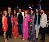 صور| «MBC مصر» تحتفل بنجاح مُسلسلاتها مع النجوم على الأهرامات