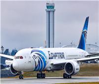 مصر للطيران تتسلم طائرتين من طراز بوينج «دريملاينر» الشهر المقبل