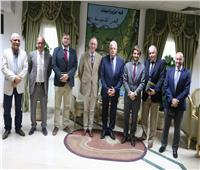 محافظ جنوب سيناء يلتقي بوفد أسباني لبحث الأوضاع الأمنية