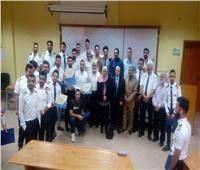 تخريج أول دفعة تضم 25 طالبًا عربيًا من أكاديمية الطيران المدني