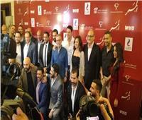 صناع وأبطال «الممر» في المؤتمر الصحفي الخاص بالفيلم