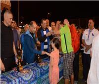 وزير الطيران يشهد ختام دورة العاملين الرمضانية لكرة القدم الخماسية