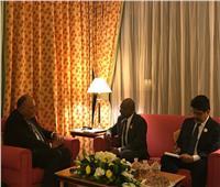 وزير الخارجية يعقد لقاءً مع نظيره بالمالديف لبحث العلاقات الثنائية