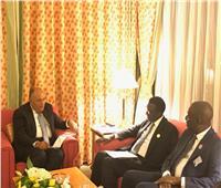 «شكري» يلتقي نظيره السنغالي على هامش مؤتمر القمة الإسلامي