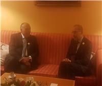 وزير الخارجية يلتقي نظيره الأردني على هامش مؤتمر القمة الإسلامي