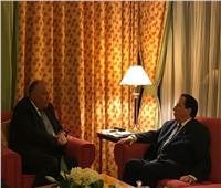 وزير الخارجية يلتقي نظيره التونسي على هامش مؤتمر القمة الإسلامي