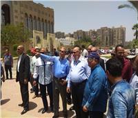 «عبد العال» يتفقد محيط استادي القاهرة والسلام