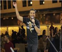 صور| رامي صبري يختتم أقوى الحفلات الرمضانية بالشيخ زايد