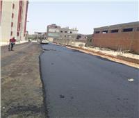 رصف شوارع بإسكندرية التحرير وحملات نظافة بمركز أسيوط