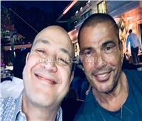 «الهضبة» وعمرو أديب يحتفلان بفوز محمد صلاح بدوري أبطال أوروبا