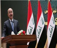 الرئيس العراقي يدعو أمريكا للتخلي عن سياسة الحروب
