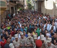 صور  جنازة عسكرية لمجند الغربية شهيد سيناء