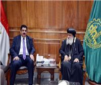 عيد بمزاق جديد.. مسيحيون بالقليوبية يهنئون إخوانهم المسلمين بعيد الفطر