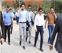 محمد فضل يطمئن على التجهيرات الأخيرة لـ«استاد القاهرة»
