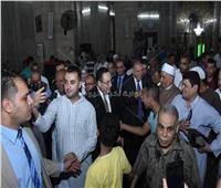 محافظ الإسكندرية يشارك المواطنين صلاة عيد الفطر