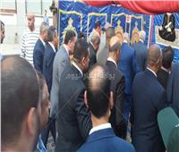 صور  محافظ الجيزة يُهني المواطنين بالعيد من مسجد مصطفى محمود