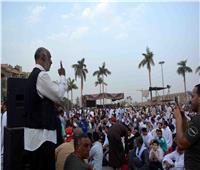 بعد شرح الخطبة بلغة الإشارة.. محافظ الأقصر وآلاف المصلين يؤدون صلاة العيد