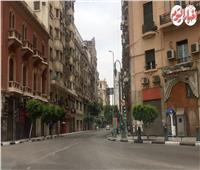 فيديو| الهدوء يسود كورنيش النيل وشوارع وسط البلد بأول أيام العيد