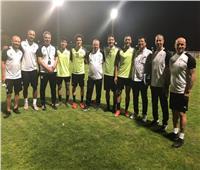صور| رمضان صبحي يشارك في مران المنتخب الأولمبي واستبعاد 4 لاعبين