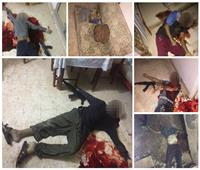 أول فيديو لمصرع العناصر الإرهابية المنفذة لحادث كمين العريش