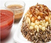 طبق اليوم.. أكلة عيد الفطر «الكشري»