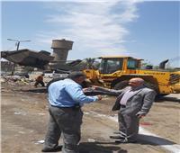 عيد الفطر 2019  رفع أطنان من القمامة بحي شرق شبرا الخيمة