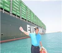 «مميش» يتفقد الملاحة بقناة السويس ويوجه الشكر للرئيس السيسي