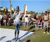 صور| أحمد شيبة يُشعل «الهاموك» ببورتو مارينا