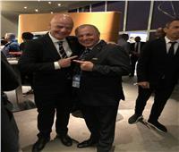 إنفانتينو يشيد باستعدادات مصر لكأس الأمم الإفريقية