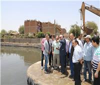 صور  محافظ الجيزة يتابع الموقف التنفيذي لتوسعات محطة أبو رواش