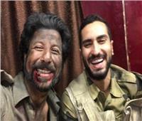 بتعليق كوميدي.. الشرنوبي ينشر صورة جديدة من كواليس «الممر»