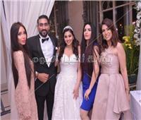 صور  متقال وإيمي سلطان يحيان زفاف حفيدة اعتماد خورشيد