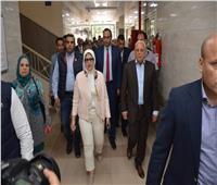 وفد من «الصحة» يتفقدمستشفي أطفال النصر التخصصي ببورسعيد