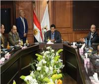 وزير الرياضة يلتقي منتخب مصر للسلاح لاستعراض خطة طوكيو 2020