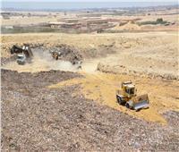 قيادات التنمية المحلية يتفقدون مصنع إعادة تدوير القمامة بمدينة 15 مايو