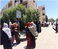 ثانوية عامة 2019| «الاقتصاد والإحصاء» يرسم البسمة على وجوه الطلاب بجنوب سيناء