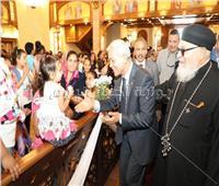 تدشين كنيسة السيدة العذراء مريم بالسادات بحضور البابا تواضروس