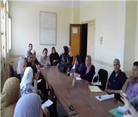 اجتماع دوري لمتابعة أنشطة التأهيل الاجتماعي بـ«تضامن القليوبية»
