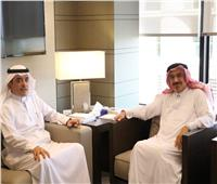 مدير «الإيسيسكو» يلتقي الأمين العام لجائزة الملك فيصل في الرياض