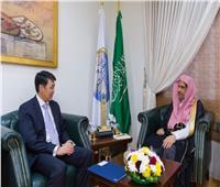 أمين عام رابطة العالم الإسلامي يستقبل السفير الكازاخستاني بالرياض
