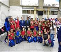 إيهاب أمين: تحول تاريخي في الجمباز بفضل دعم ومساندة الوزير وحطب