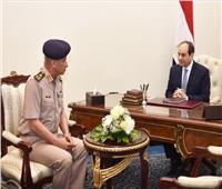 بسام راضي : السيسي يلتقي وزير الدفاع والإنتاج الحربي
