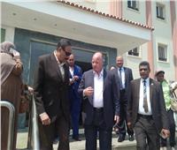 محافظ القاهرة يتفقد مصابي حادث طريق الأوتوستراد