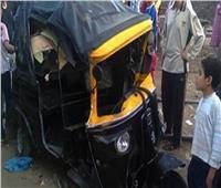 ننشر أسماء المصابين بحادث سير في بني سويفبسبب توك توك